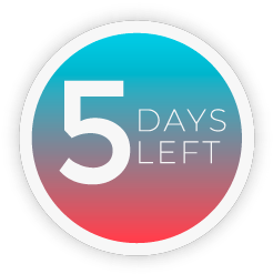 5 Days Left badge