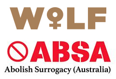 WoLF and ABSA logos